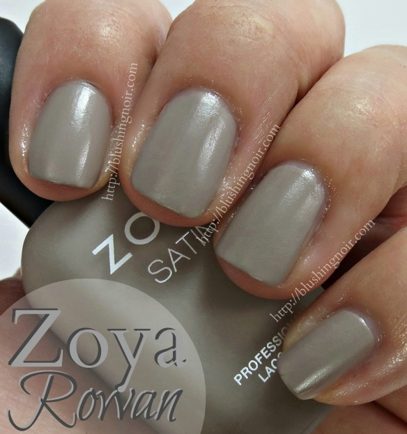 Zoya Rowan Nail Polish Swatches