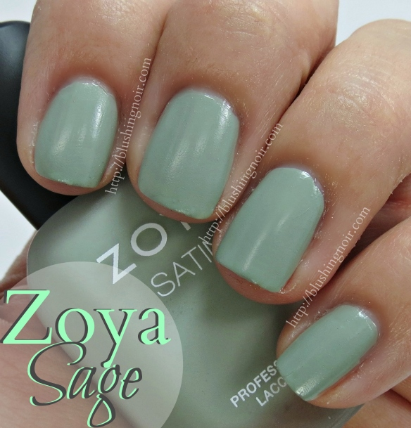 Zoya Sage Nail Polish Swatches