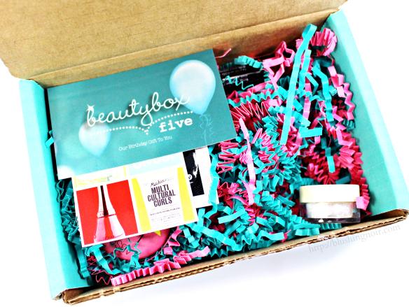 Beauty Box 5 peek inside