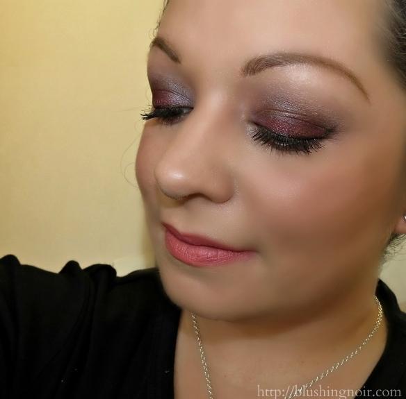 ColourPop Megan Naik smokey eye look swatches