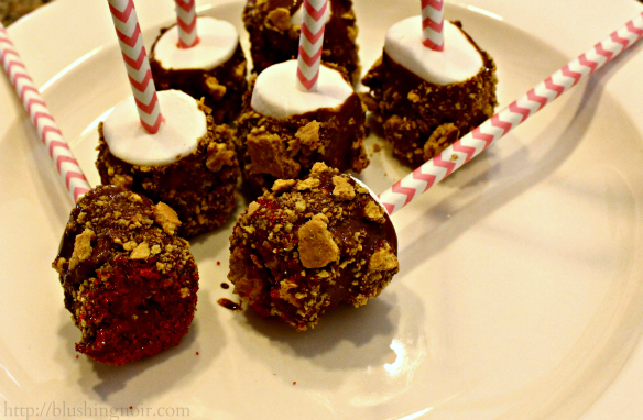 How to make s'mores pops kids treat