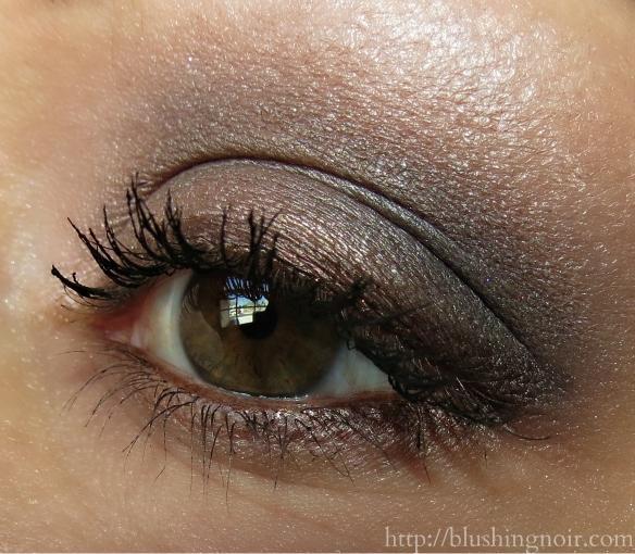 MAC Cinderella Stroke of Midnight palette eye look