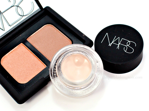 NARS Porto Venere Eye Paint Swatches