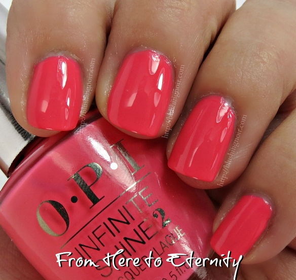 OPI From Here to Eternity Nail Polish Swatches