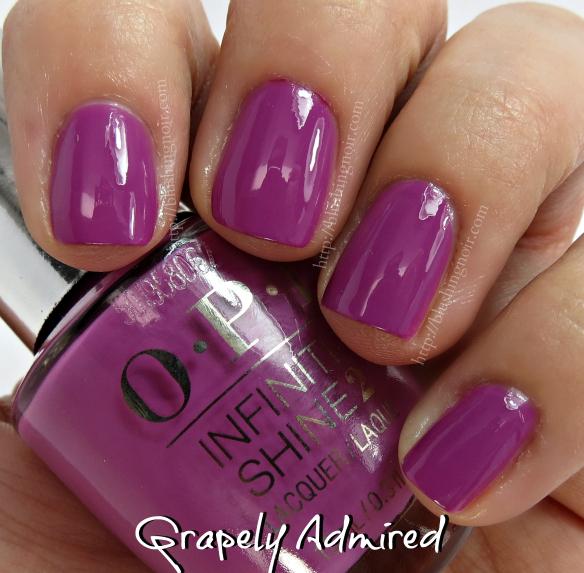 OPI Grapely Admired Nail Polish Swatches
