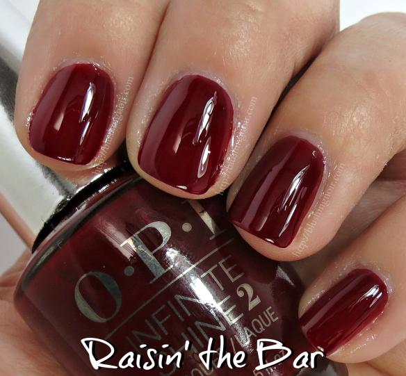 OPI Raisin the Bar Nail Polish Swatches