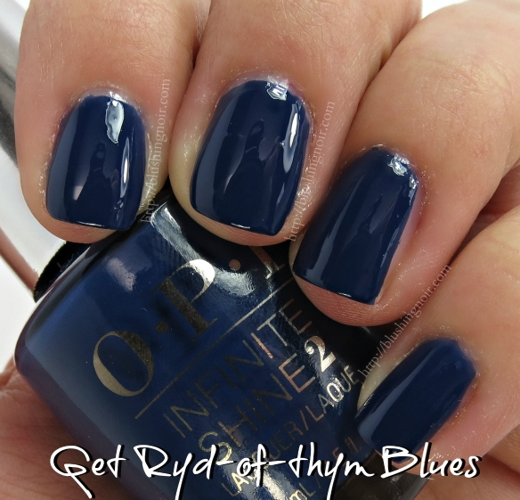 OPI Ryd-of-thym Blues Nail Polish Swatches
