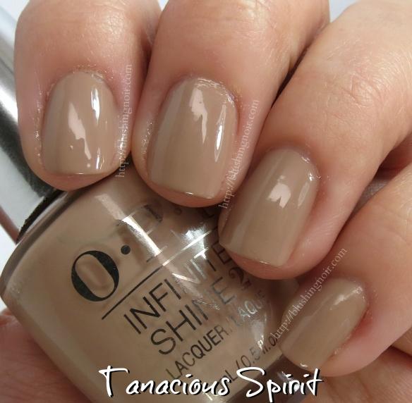 OPI Tanacious Spirit Nail Polish Swatches