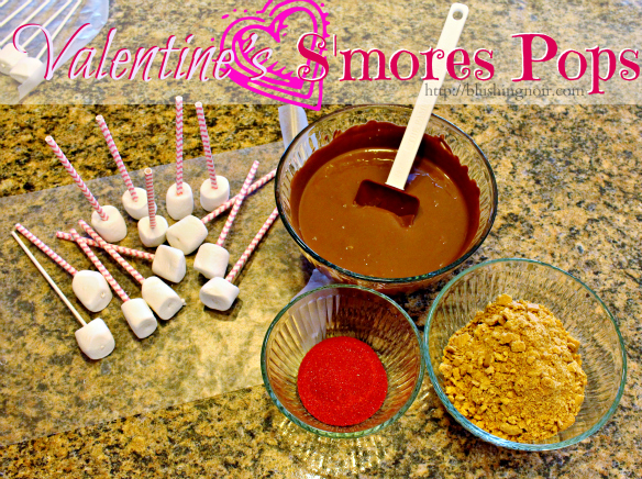 Smores Pops Valentine's Day Treat