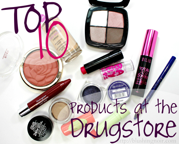 Top 10 Drugstore Makeup Products