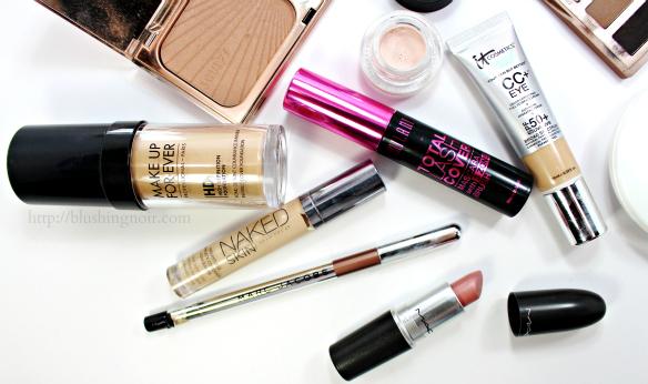 quick makeup look