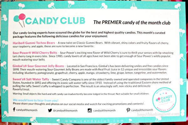 Candy Club March 2015