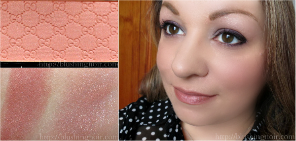 Gucci Nude Freesia Blush Swatches