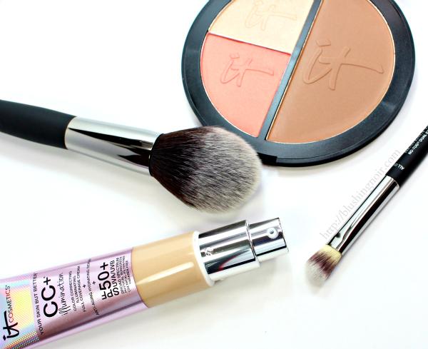 IT Cosmetics CC+ Illumination Cream Foundation review swatches