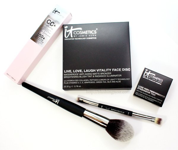 IT Cosmetics CC+ Your Way To Radiant Skin! 5-Piece Collection QVC