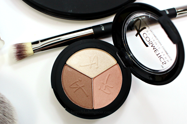 IT Cosmetics Pretty in Spring Eyeshadow Trio swatches