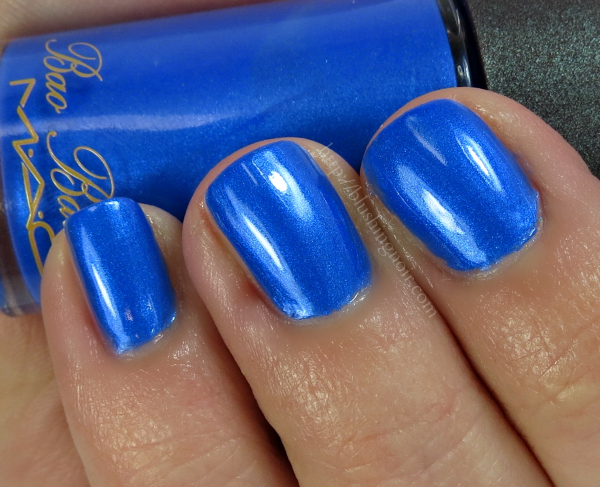 MAC Kashmir Blue Nail Polish Swatches