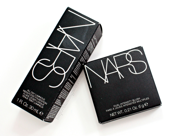 NARS Foundation Dual Intensity Blush review