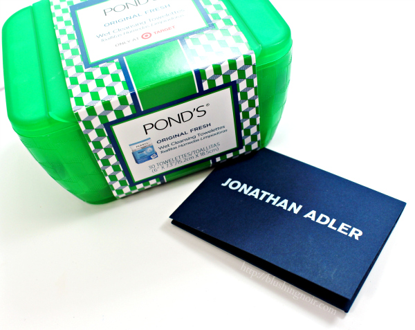 POND'S + Jonathan Adler Wet Cleansing Towelettes Vanity Case & a $200 Jonathan Adler gift card