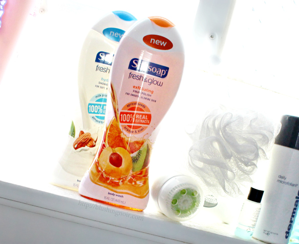 Softsoap Fresh & Glow body care #FreshAndGlow