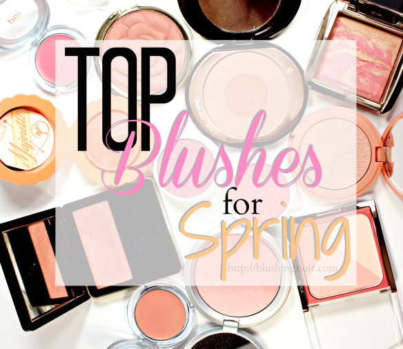 Top 11 Blushes for Spring 2015