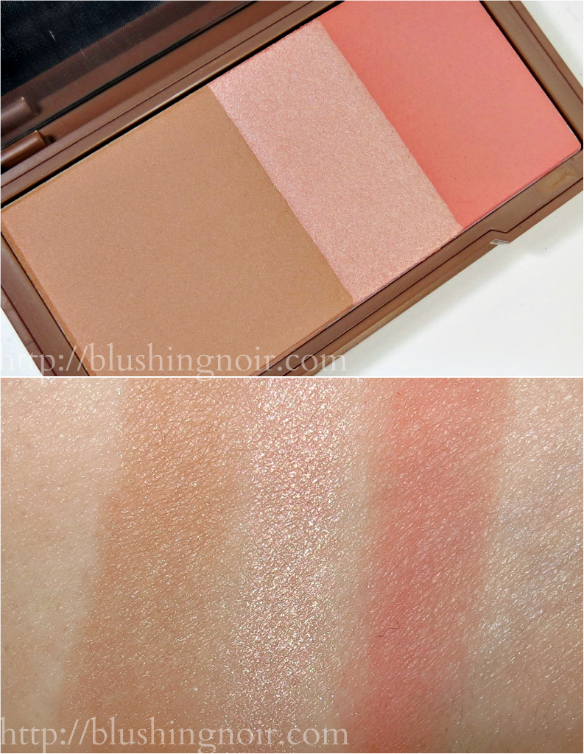 Urban Decay Streak Naked Flushed Swatches