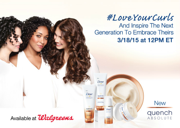 Stop in to your local Walgreens from 3/15/15-3/21/15 to receive 1,000  Balance Rewards points when you buy 2 Dove Hair products.