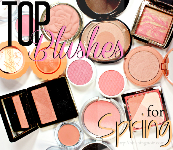 best blushes for spring