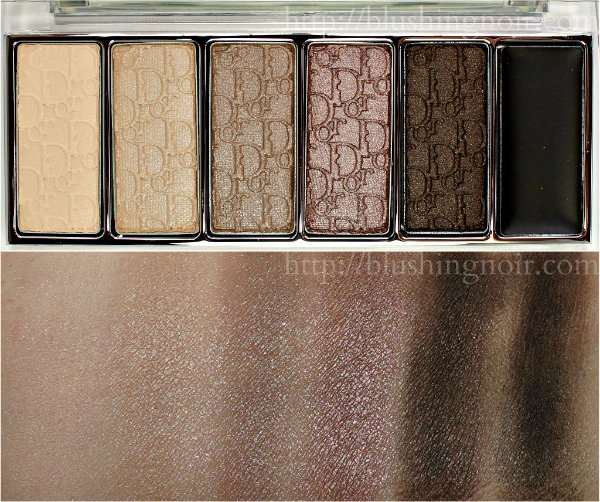 Dior Eye Reviver Eyeshadow Palette Swatches