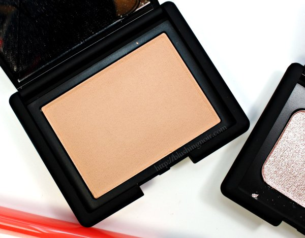 NARS Silent Nude Blush swatches
