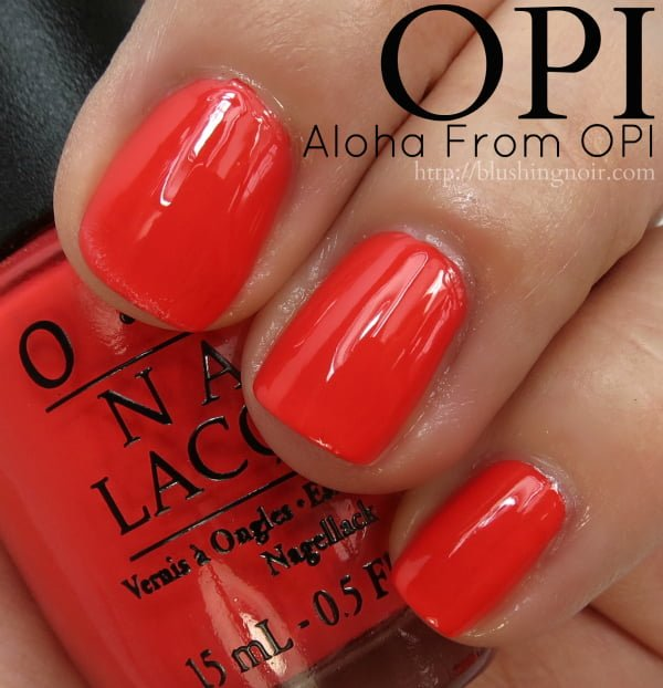 OPI Aloha From OPI Nail Polish Swatches