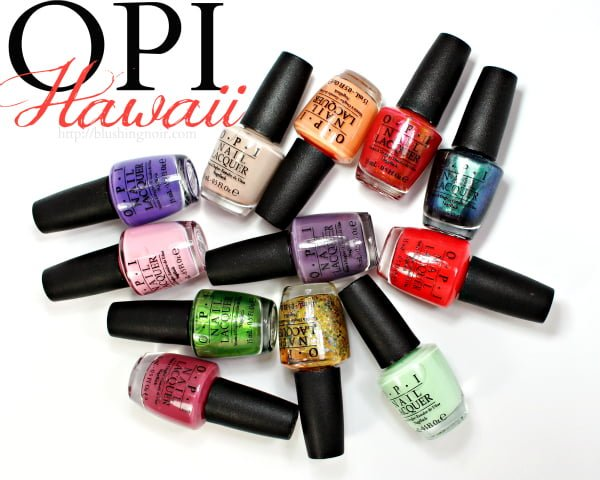 OPI Hawaii Nail Polish Swatches