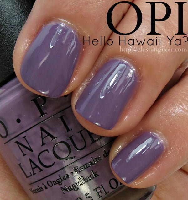OPI Hello Hawaii Ya Nail Polish Swatches