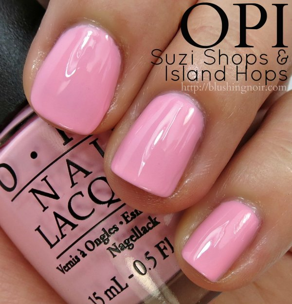 OPI Suzi Shops & Island Hops Nail Polish Swatches