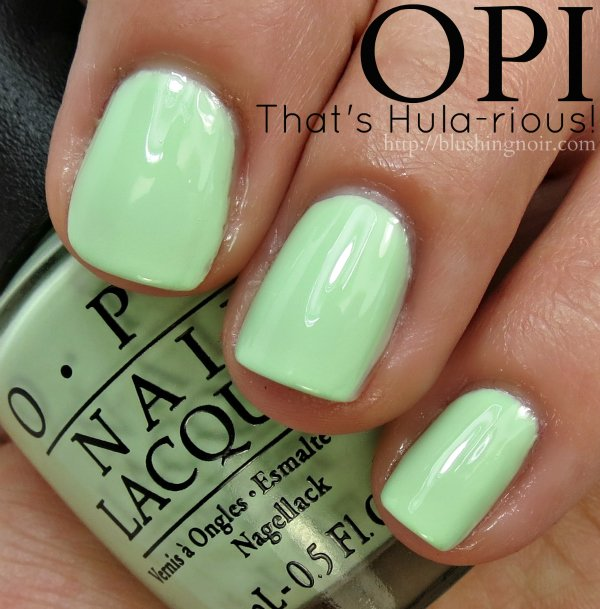 OPI That's Hula-rious Nail Polish Swatches