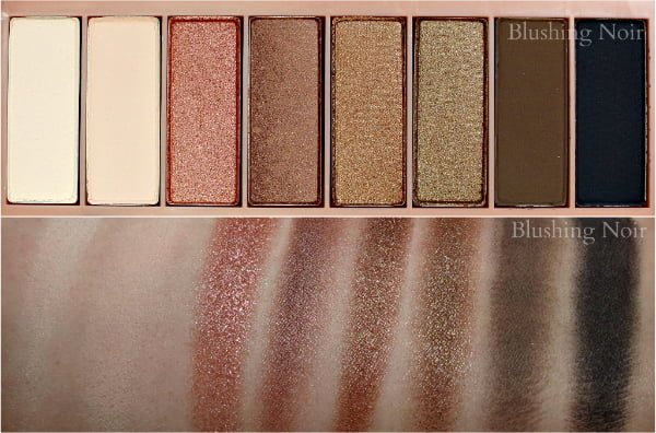 PUR Minerals Secret Crush Eyeshadow Palette Swatches