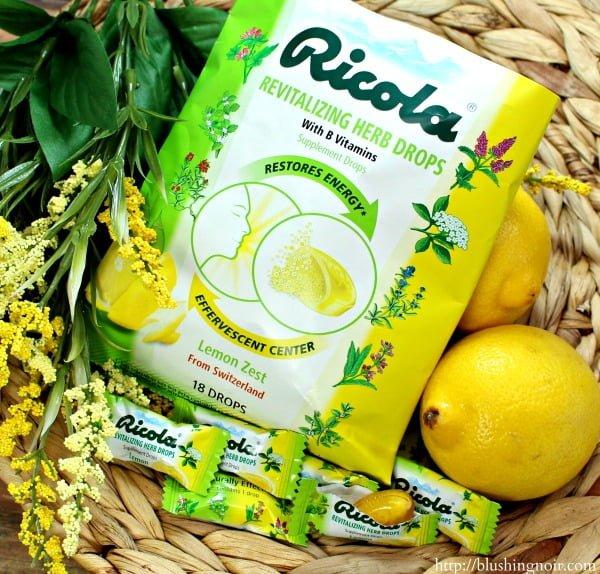 Ricola® Herb & Throat drops #swissherbs
