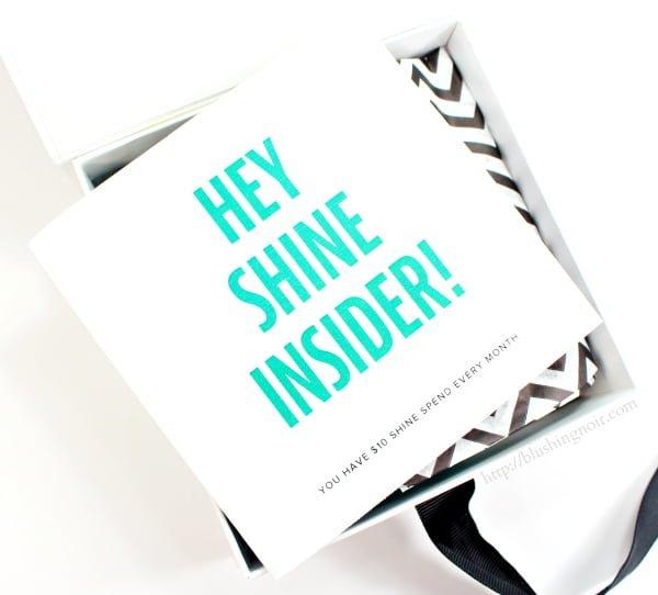 Rocksbox Shine Insider