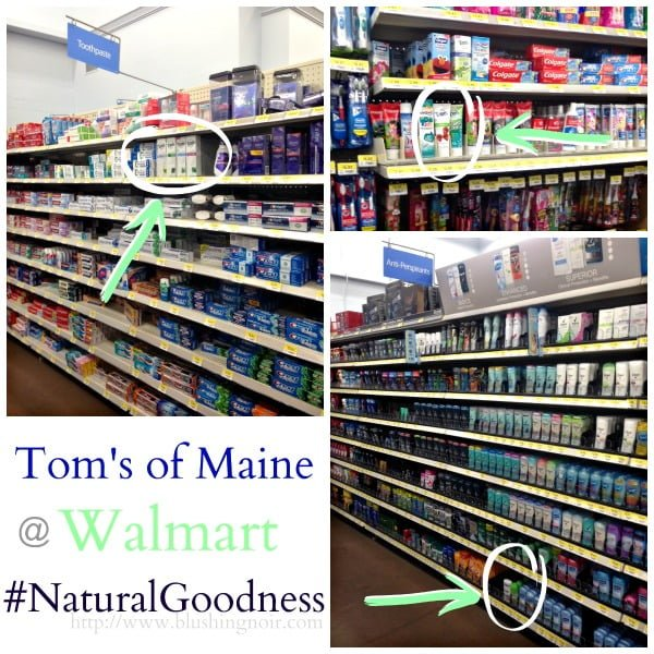 Toms of Maine #NaturalGoodness Walmart