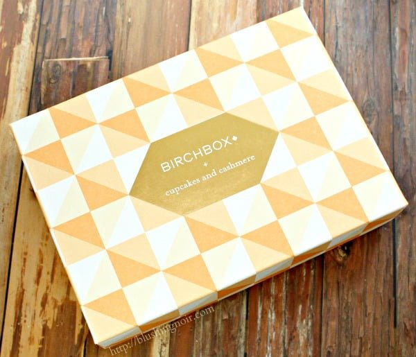 Birchbox Cupcakes and Cashmere