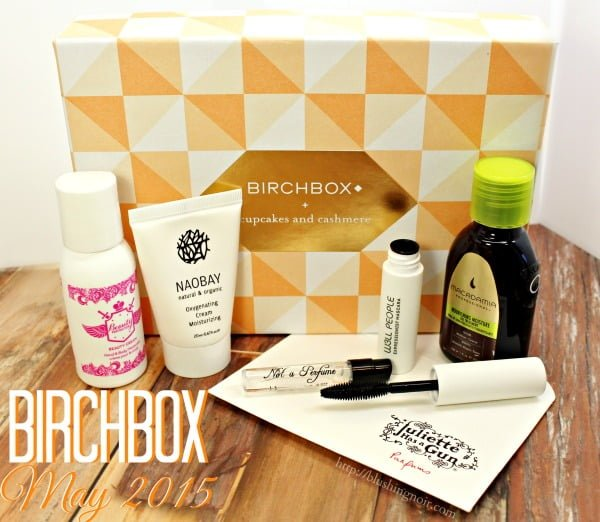 Birchbox May 2015 Swatches review