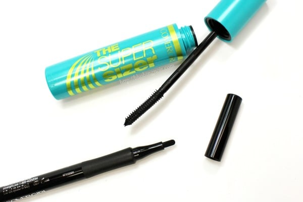 COVERGIRL SuperSizer Intensify Me Liner Swatches