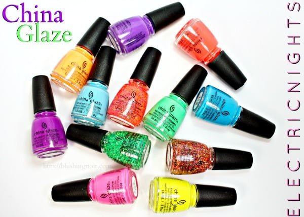 China Glaze Electric Nights Neon Collection Swatches Review