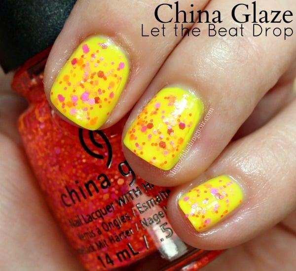 China Glaze Let the Beat Drop Nail Polish Swatches