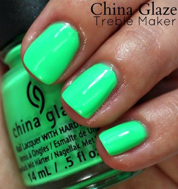 China Glaze Treble Maker Nail Polish Swatches