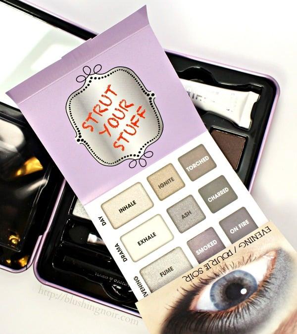 Hard Candy Smokey Eyes Eyeshadow Palette shades