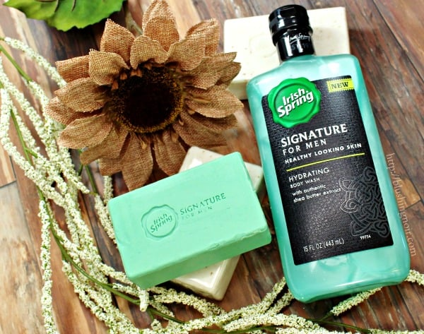 Irish Spring Signature for Men Hydrating Body Wash #MySignatureMove