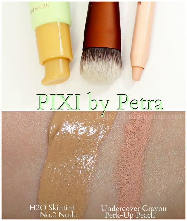 PIXI H2O Skintint Swatches