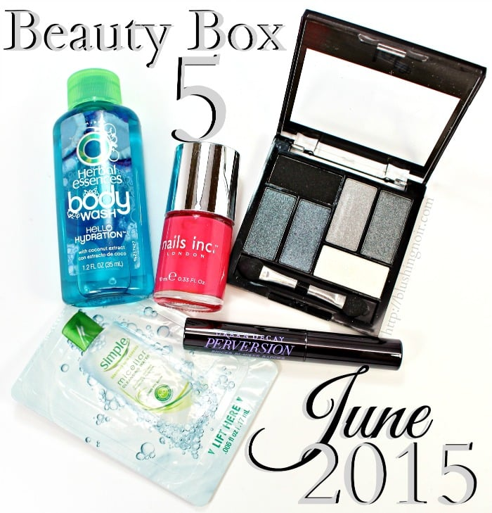Beauty Box 5 June 2015 Swatches Review