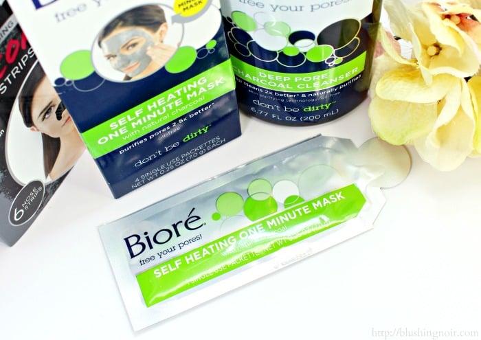 Bioré® Self Heating One Minute Mask #BioréStripDown